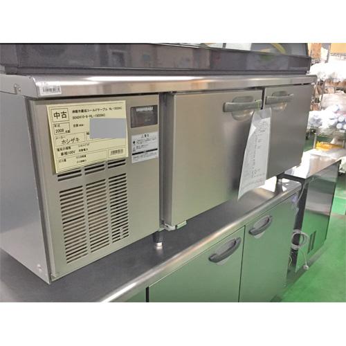 【中古】低冷凍冷蔵コールドテーブル ホシザキ RL-150SNC 幅1500×奥行600×高さ600 【送料別途見積】【業務用】【厨房機器】
