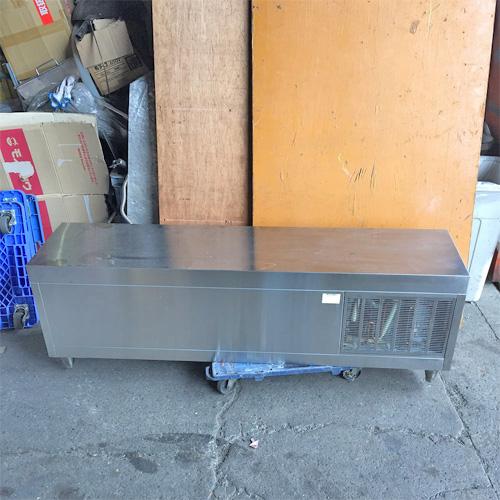 【中古】冷蔵ショーケース ビーエム N-150(L) 幅1500×奥行350×高さ500 【送料無料】【業務用】【厨房機器】