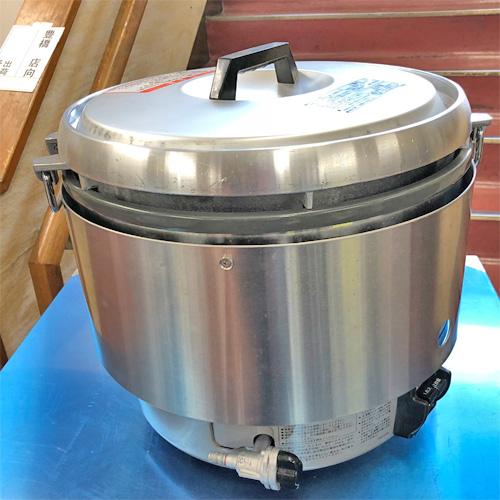 【中古】ガス炊飯器 リンナイ RR-30S2 幅466×奥行438×高さ424 都市ガス 【送料無料】【業務用】【厨房機器】