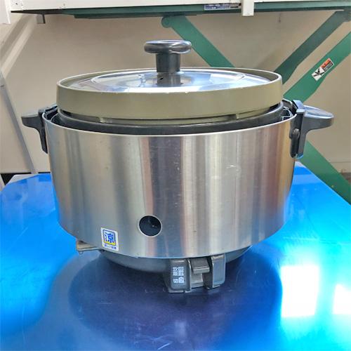 【中古】ガス炊飯器 リンナイ RR-S15SF 幅470×奥行378×高さ322 LPG(プロパンガス) 【送料別途見積】【業務用】