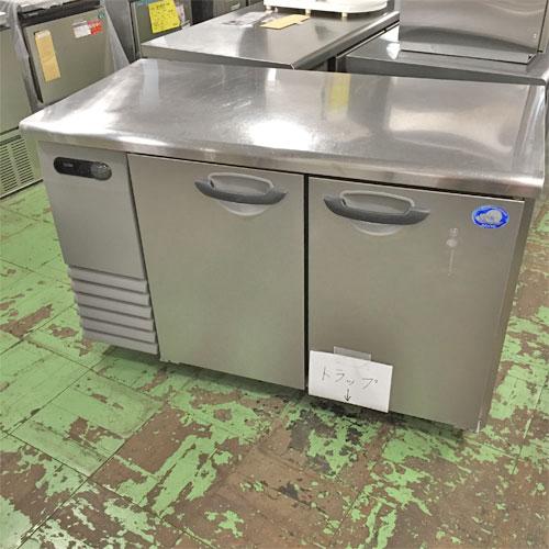【中古】冷蔵コールドテーブル サンヨー SUR-G1261SA 幅1200×奥行600×高さ800 【送料別途見積】【業務用】