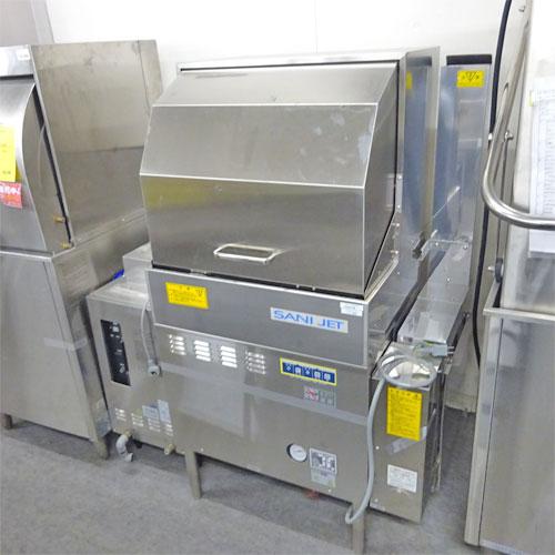 【中古】食器洗浄機 ドアタイプ ブースター付き 日本洗浄機 SD-62GA 幅780×奥行600×高さ1300 60Hz専用 LPG(プロパンガス) 【送料別途見積】【業務用】