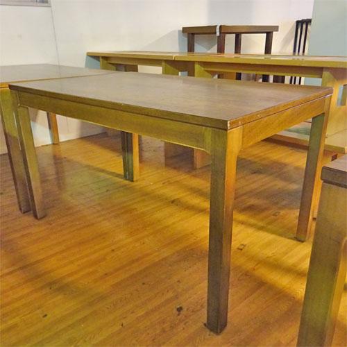 【中古】木製テーブル 幅1200×奥行750×高さ700 【送料別途見積】【業務用】
