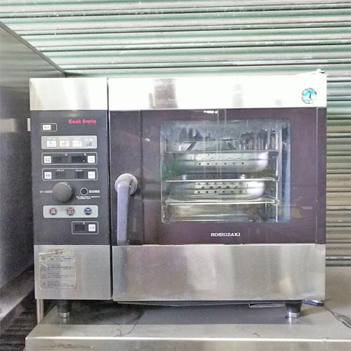 【中古】スチームコンベクションオーブン ホシザキ MIC-5TA3 幅750×奥行560×高さ685 三相200V 【送料別途見積】【業務用】【厨房機器】