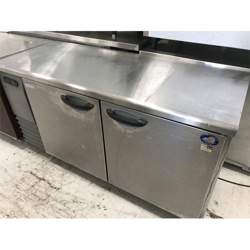 【中古】冷凍冷蔵コールドテーブル サンヨー SUR-G1561CA 幅1500×奥行600×高さ800 【送料別途見積】【業務用】【厨房機器】