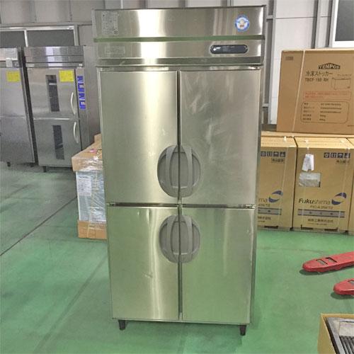 【中古】縦型冷蔵庫 フクシマガリレイ(福島工業) URD-090RMD6 幅900×奥行800×高さ1950 三相200V 【送料別途見積】【業務用】