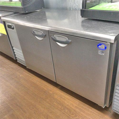 【中古】冷蔵コールドテーブル パナソニック(Panasonic) SUR-G1561SA 幅1500×奥行600×高さ800 【送料無料】【業務用】【厨房機器】