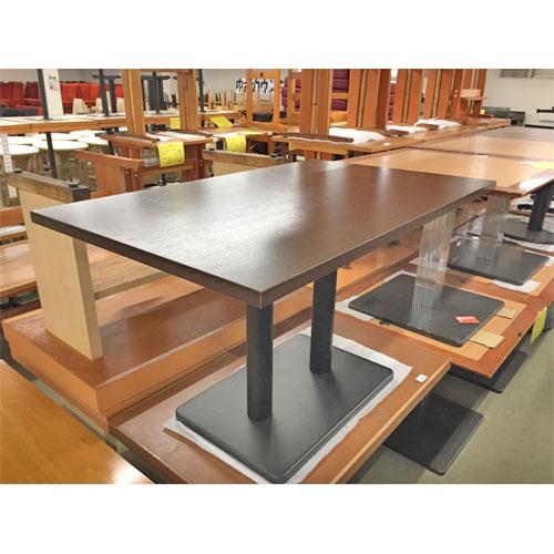 【中古】TBメラミン洋風テーブル 幅1200×奥行750×高さ720 【送料別途見積】【業務用】