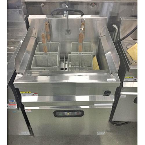 【中古】ゆで麺機 マルゼン MREU-066 幅600×奥行600×高さ800 三相200V 【送料別途見積】【業務用】