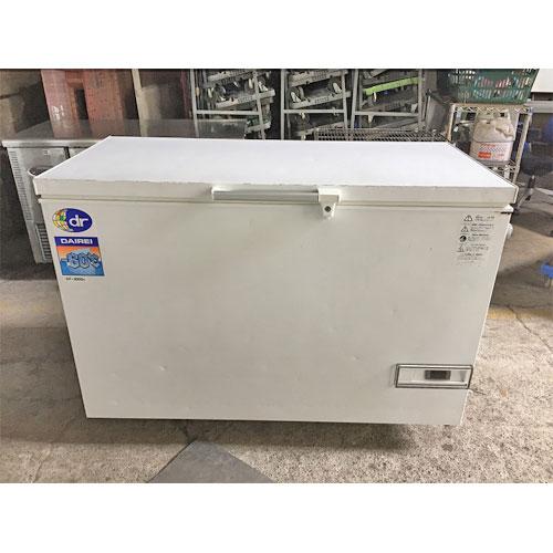【中古】冷凍ストッカー ダイレイ DF-300A 幅1260×奥行730×高さ840 【送料別途見積】【業務用】