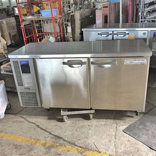 【中古】冷蔵コールドテーブル ホシザキ RT-150SNF-E 幅1500×奥行600×高さ790 【送料別途見積】【業務用】