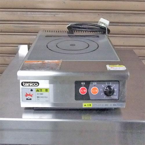 【中古】IH 調理器 タニコー TIH-2NN 幅300×奥行460×高さ125 【送料別途見積】【業務用】