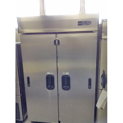 【中古】スライド扉縦型冷蔵庫 大和冷機 401CD-S-EC 幅1200×奥行800×高さ1989 【送料無料】【業務用】