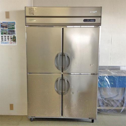【中古】縦型冷蔵庫 福島工業(フクシマ) ARD-120FMD-F 幅1200×奥行800×高さ1950 三相200V 【送料別途見積】【業務用】【厨房機器】
