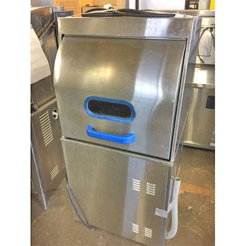 【中古】食器洗浄機 マルゼン MDRTBR6E 幅600×奥行600×高さ1350 三相200V 【送料無料】【業務用】