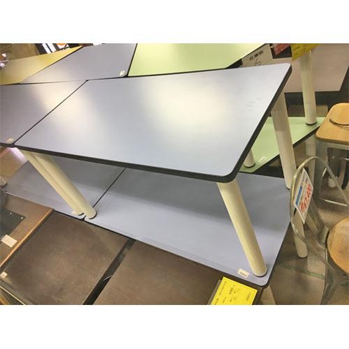 【中古】テーブル(長方形) 幅1200×奥行600×高さ640 【送料無料】【業務用】