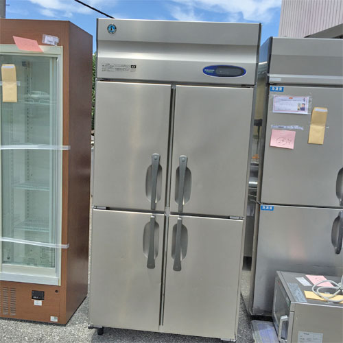 【中古】冷蔵庫 ホシザキ HR-90ZT-ML 幅900×奥行650×高さ1890 【送料別途見積】【業務用】