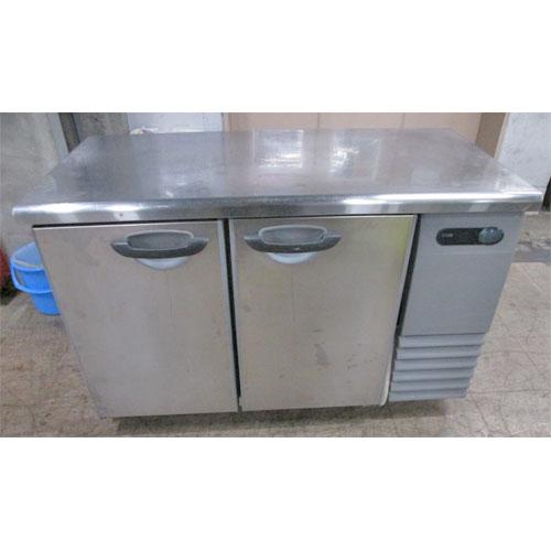【中古】冷蔵コールドテーブル 三洋電機 SUR-G1261S-R 幅1200×奥行600×高さ800 【送料無料】【業務用】【厨房機器】