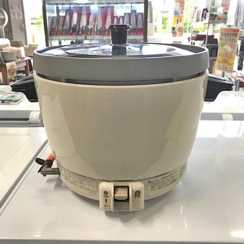 【中古】ガス炊飯器 リンナイ RR-20SF2 幅431×奥行335×高さ341 LPG(プロパンガス) 【送料別途見積】【業務用】