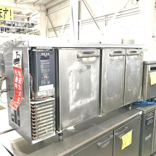 【中古】冷凍冷蔵コールドテーブル ホシザキ RFT-150PTE 幅1500×奥行450×高さ800 【送料別途見積】【業務用】【厨房機器】
