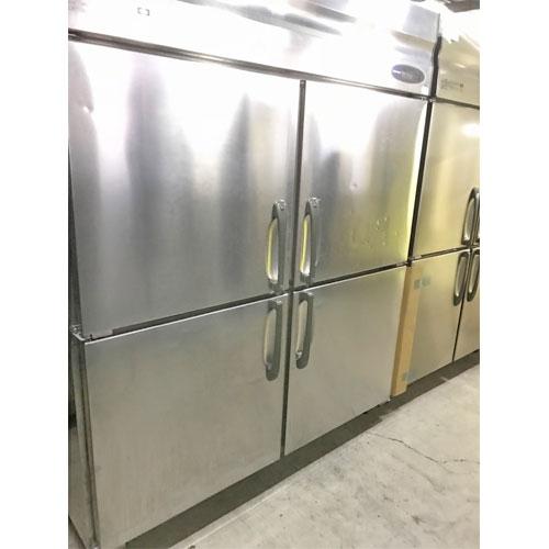 【中古】縦型冷凍庫 ホシザキ HR-150LZ3-ML 幅1500×奥行800×高さ1890 【送料別途見積】【業務用】【厨房機器】