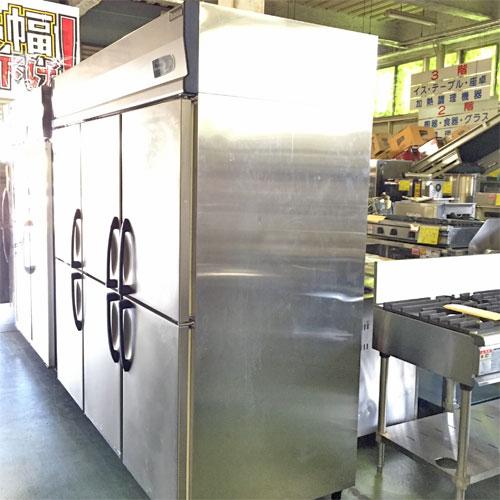 【中古】6ドア冷凍冷蔵庫 大和冷機 623S2-EC 幅1800×奥行800×高さ1895 三相200V 【送料別途見積】【業務用】【厨房機器】