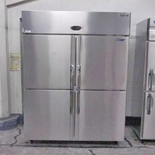 【中古】4ドア 冷凍冷蔵庫 フジマック FR1580FJ 幅1500×奥行800×高さ1935 【送料別途見積】【業務用】【厨房機器】