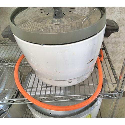 【中古】ガス炊飯器 リンナイ RR-15SF 幅431×奥行331×高さ318 LPG(プロパンガス) 【送料無料】【業務用】