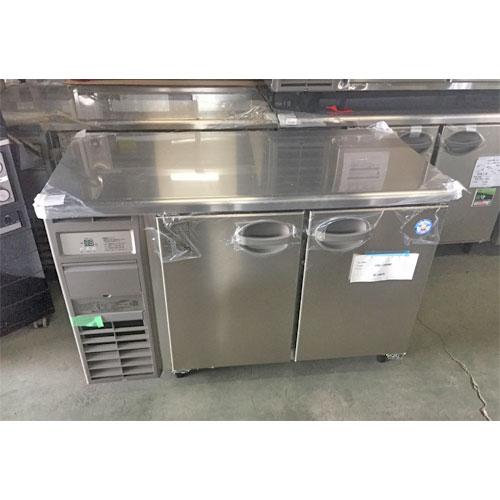 【中古】冷蔵コールドテーブル 福島工業(フクシマ) YRC-120RM2 幅1200×奥行600×高さ800 【送料別途見積】【未使用品】【業務用】【厨房機器】