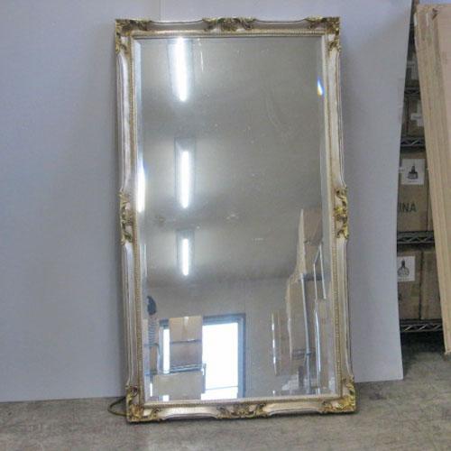 【中古】装飾鏡 大 幅790×奥行55×高さ1400 【送料別途見積】【業務用】