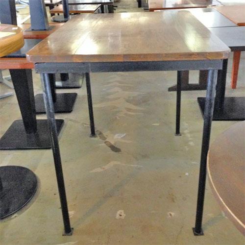 【中古】ハイテーブル 幅1100×奥行810×高さ990 【送料無料】【業務用】