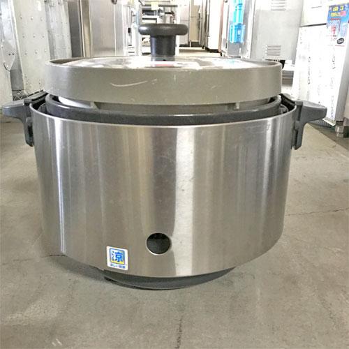【中古】涼厨ガス炊飯器 2升 リンナイ RR-S20SF 幅470×奥行378×高さ357 都市ガス 【送料別途見積】【業務用】