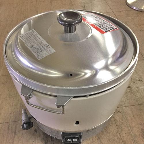 【中古】ガス炊飯器 リンナイ RR-30SI 幅450×奥行420×高さ410 都市ガス 【送料無料】【業務用】【厨房機器】