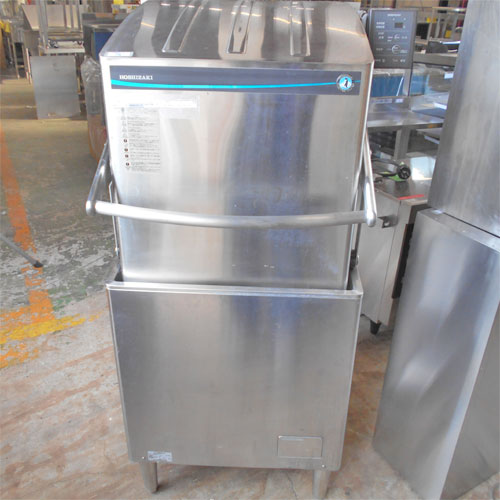 【中古】食器洗浄機 ドアタイプ ホシザキ JWE-580UB 幅640×奥行655×高さ1432 三相200V 【送料別途見積】【業務用】