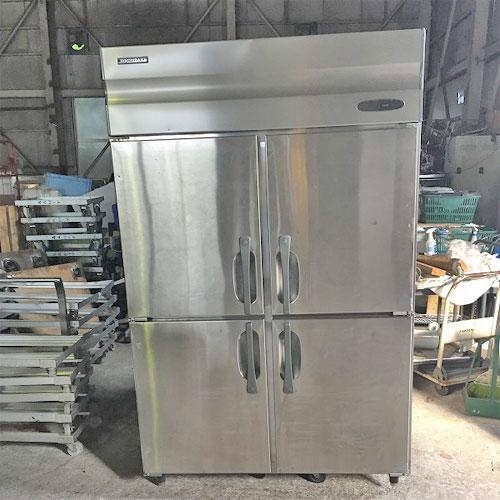 【中古】4ドア縦型冷蔵庫 ホシザキ HR-120X 幅1200×奥行800×高さ1890 【送料別途見積】【業務用】