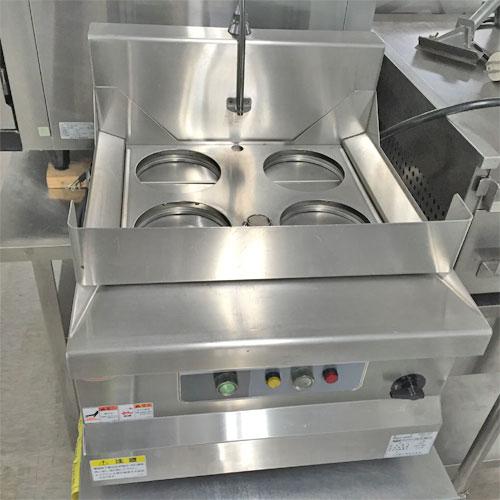 【中古】卓上電気ゆで麺機 マルゼン MREK-45T 幅450×奥行530×高さ300 【送料別途見積】【業務用】