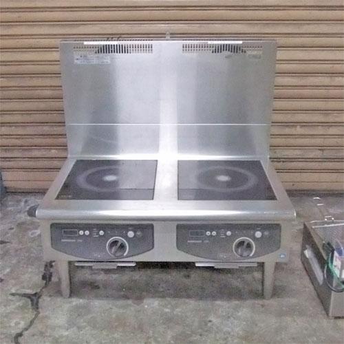 【中古】IH 調理器 ホシザキ HIH-55LB 幅900×奥行600×高さ420 三相200V 【送料別途見積】【業務用】