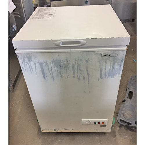 【中古】冷凍ストッカー サンヨー SCR-F10V 幅720×奥行680×高さ950 【送料無料】【業務用】【厨房機器】