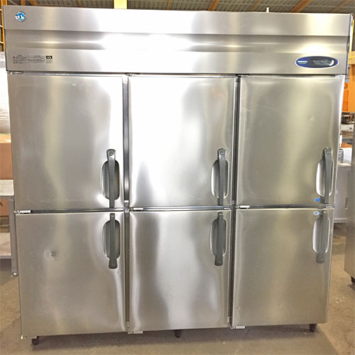 【中古】縦型冷凍冷蔵庫 ホシザキ HRF-180ZFT3 幅1800×奥行650×高さ1900 三相200V 【送料無料】【業務用】