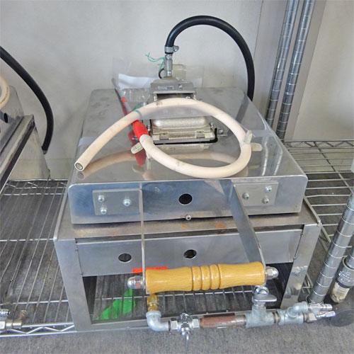 【中古】【新古品】いか焼き器 リンナイ R-402S2 幅400×奥行460×高さ220 LPG(プロパンガス) 【送料別途見積】【業務用】