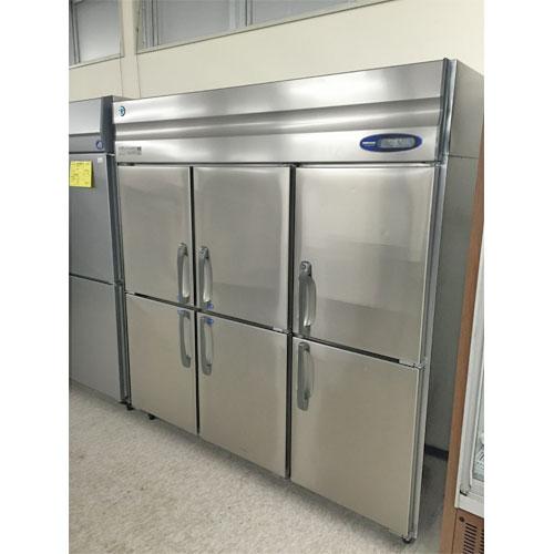 縦型冷凍冷蔵庫(4凍2蔵)インバータ制御 ホシザキ HRF-180Z4F3 業務用 中古/送料別途見積 幅1800×奥行800×高さ1890
