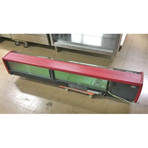 【中古】冷蔵ネタケース ホシザキ HNC-181B-L-B 幅1800×奥行350×高さ270 【送料無料】【業務用】