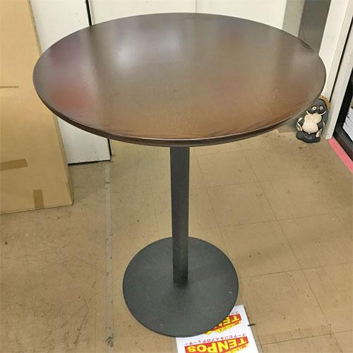 【中古】カウンターテーブル 幅750×奥行750×高さ1020 【送料無料】【業務用】