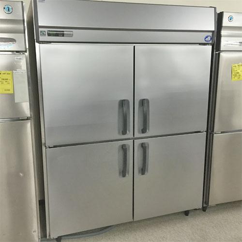 【中古】センターピラーレス縦型冷蔵庫インバータ制御 三洋電機 SRR-J1583VS 幅1470×奥行800×高さ1950 三相200V 【送料別途見積】【業務用】【厨房機器】