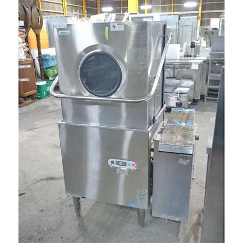 【中古】食器洗浄機 タニコー TDWD-606G16R 幅650×奥行650×高さ1430 三相200V 60Hz専用 都市ガス 【送料無料】【業務用】