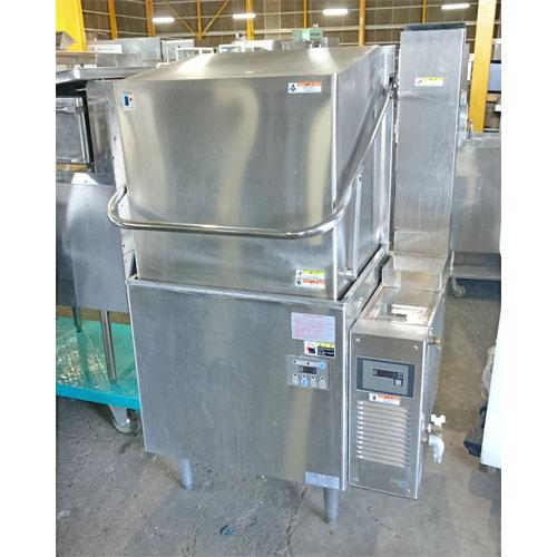 【中古】食器洗浄機 フジマック FDW60FL67 幅870×奥行670×高さ1430 三相200V 60Hz専用 都市ガス 【送料無料】【業務用】