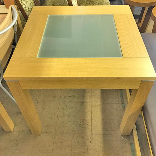 【中古】テーブル ポンド(ナチュラル) アダル 幅800×奥行800×高さ720 【送料無料】【業務用】
