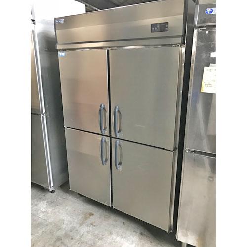 【中古】4ドア冷凍冷蔵庫(2/2) 大和冷機 463YS2 幅1200×奥行650×高さ1950 三相200V 【送料別途見積】【業務用】【厨房機器】