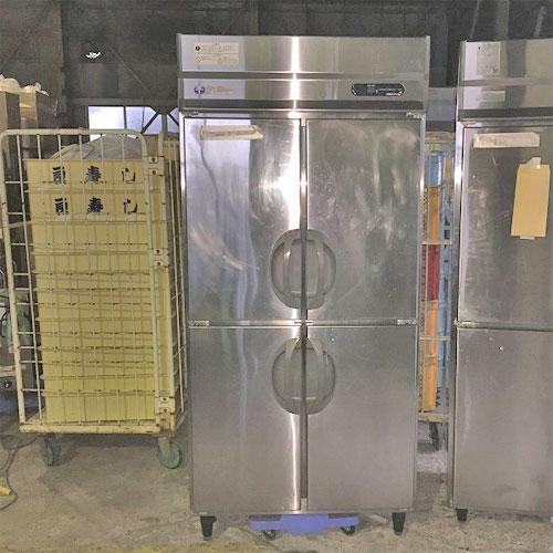 【中古】《大幅値下》縦型冷凍庫 フクシマガリレイ(福島工業) URD-34FETA1 幅900×奥行800×高さ1920 三相200V 【送料別途見積】【業務用】