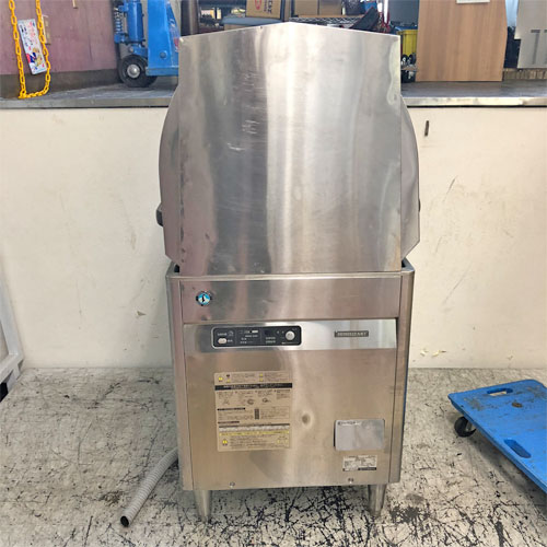 【中古】食器洗浄機(パススルー) ホシザキ JWE-450WU3 幅600×奥行650×高さ1310 三相200V 【送料無料】【業務用】
